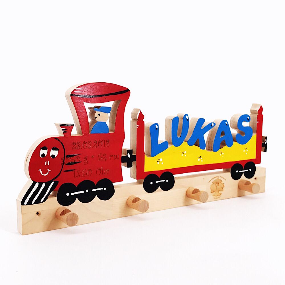 Eisenbahn Unsere Handgefertigte Namensleiste Fur Kinder